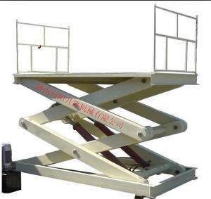 合肥固定剪叉式升降機固定小型液壓裝卸臺上車臺