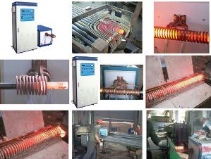 冷拉圆钢管端头热轧电加热设备