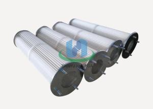 聚酯覆膜纖維除塵器濾筒TYK3275