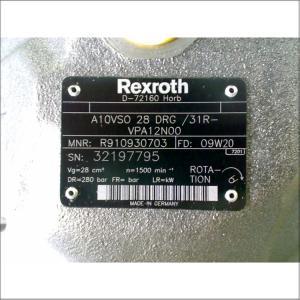 力士樂泵A10VSO10DR 52R-PPA14N00