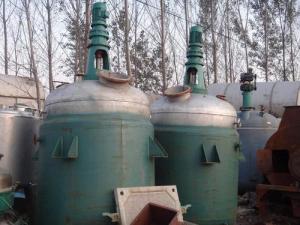 二手化工設備搪瓷反應釜現貨供應