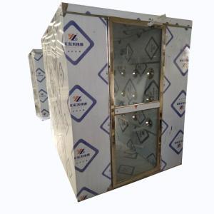 山东电子厂冷板不锈钢风淋室 单人双吹风淋室规格