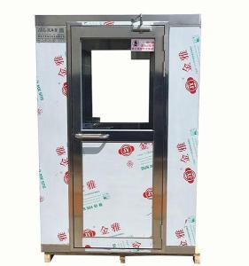 山東QS認證風淋室 自動感應雙人雙吹風淋室
