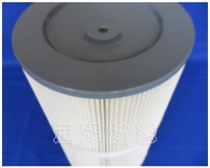 聚酯纤维除尘粉尘滤芯滤筒质优价廉远泽