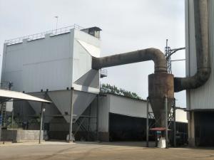 環保設備電焊集中處理鍋爐煙氣袋式除塵器