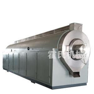 大型電磁加熱中藥炒藥機,炒藥流水線設備,霍氏機械