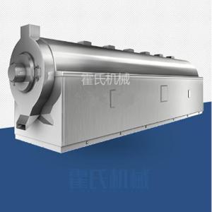 多功能電磁加熱炒藥機,精確控溫連續炒制流水線設備