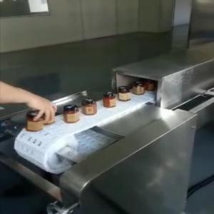 科尔新品瓶装食品微波灭菌设备