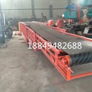 水泥廠三節伸縮輸送機 訂制四節伸縮裝車傳送機