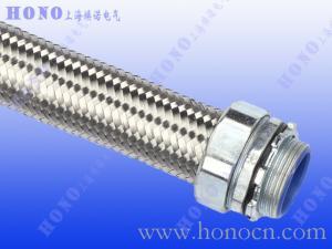 不锈钢编织网包塑镀锌钢金属软管