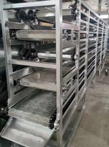 山东厂家直销小型食品烘干输送机械设备 全自动流水线式干燥机械加工定制