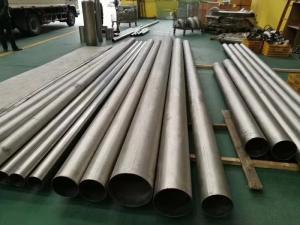 纯钛焊管*性能好   用于换热器和化工设备厂的拷贝