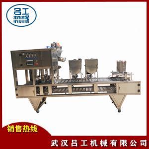 豆腐脑豆腐花灌装封口机盒装酸奶封口机食品机械设备