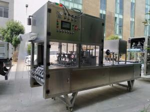 食品抽真空封口机鲜肉牛排海鲜托盒灌装封口机