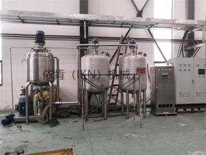 水性體系中納米炭黑分散高速研磨分散機