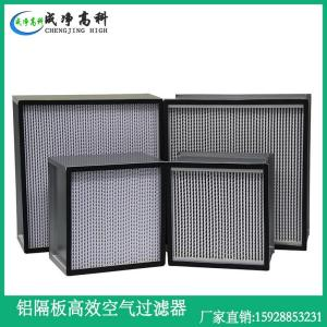 成都重庆市制药厂液槽高效空气过滤器 成都重庆市GMP药厂高效玻纤过滤器