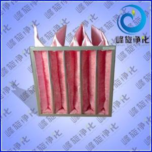 玻纖袋式空氣過濾網,玻纖袋-過濾器-高溫袋