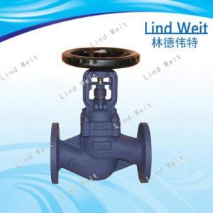 林德伟特不锈钢蒸汽波纹管截止阀