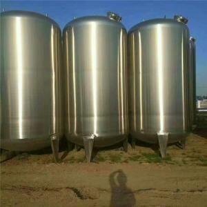 出售二手不锈钢储罐 卫生级储罐 食品级储罐