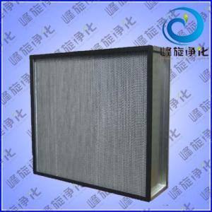 有隔板高效过滤网,隔板型-铝箔-高效块