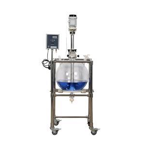 玻璃分液器玻璃30L萃取器實驗室水油分離萃取裝置