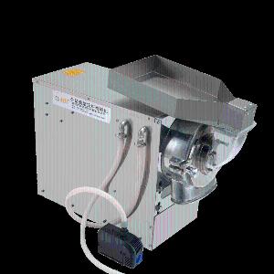 中药水冷粉碎机卧式连续式大功率石斛磨粉机大型商用双腔高速超微