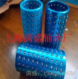 FZM藍色樹脂保持器鋼球滑套高精度滾珠襯套