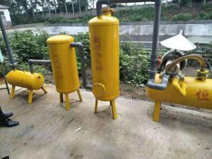 水封器  沼氣脫硫方案