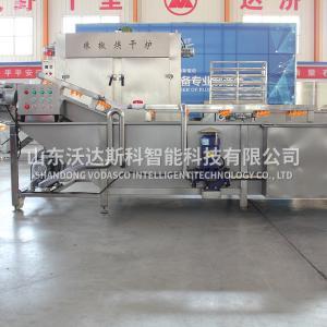 果蔬净菜加工设备 不锈钢果蔬气泡清洗机 气泡清洗机厂家供应