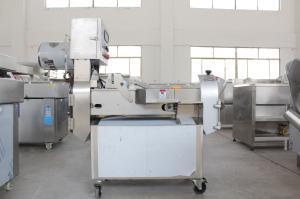 多功能商用厨房切菜机 双头切菜机厂家 蔬菜加工生产线设备