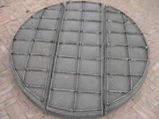 304金属不锈钢丝网除沫器 316L金属丝网除雾器 PP丝网除雾器