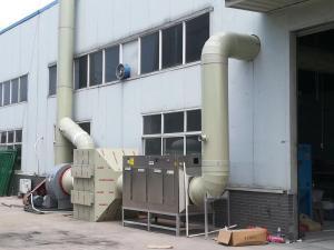 常州金坛活性炭吸附箱蜂窝活性炭箱