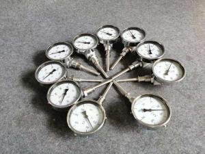 天津華泰天科儀表廠   不銹鋼壓力表