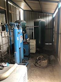 空壓機配件油分罐的工作原理