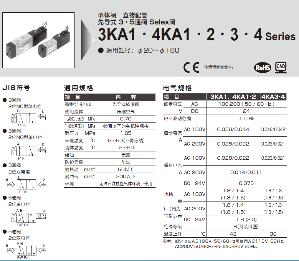 4KA210-06-DC24V  CKD電磁閥